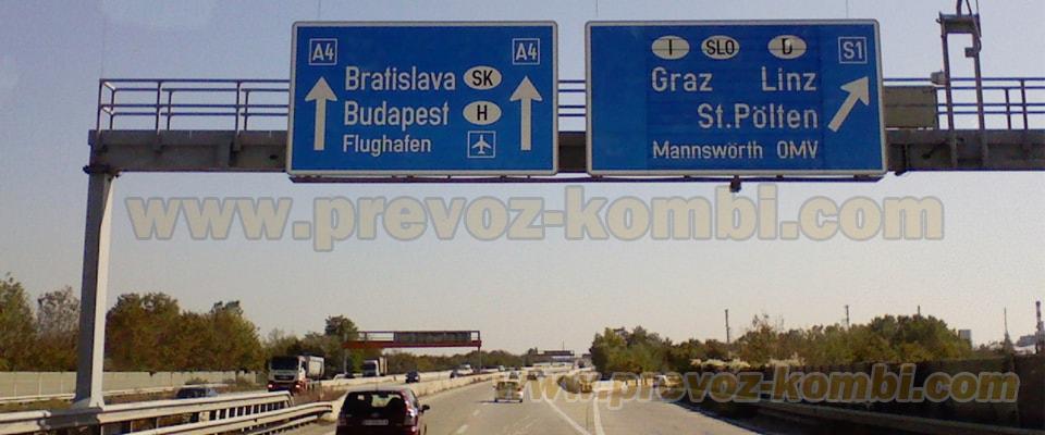 kombi prevoz inostranstvo, kombi prevoz robe stvari prema svim državama Evropske unije Nemačka Autrija Belgija Bugarska