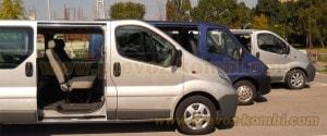 kombi prevoz putnika do aerodroma Nikola Tesla Beograd, udobna klimatizovana kombi vozila